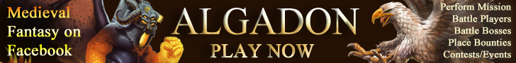 Algadon Medieval/Fantasy Game on Facebook