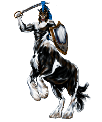 Centaur Knight - Algadon